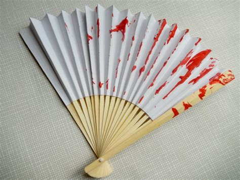 japanese paper fan craft wool painted fan craft crafts on sea