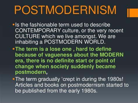 postmodern picture books postmodernism