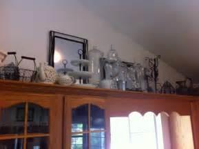 Top Of Kitchen Cabinet Decorating Ideas martha stewart decorativeative above kitchen cabinets