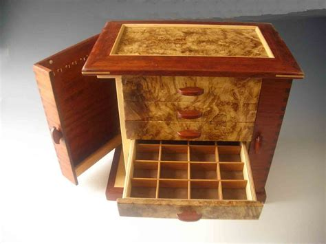 how to make a wood jewelry box handmade wooden necklace holders jewelry box