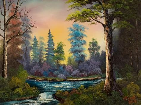 bob ross painting rocks 17 best ideas about waterfall paintings on