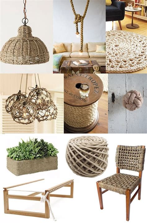 rope crafts for 30 rope crafts and decorating ideas for a nautical theme