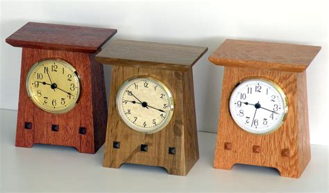clocks for woodworking projects mission style clocks by dave owen lumberjocks