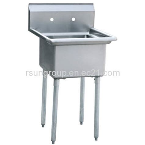 stainless steel commercial kitchen sinks one compartment stainless steel commercial kitchen sink