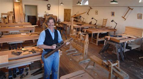 nc woodworkers roy underhill opens woodworking school finewoodworking