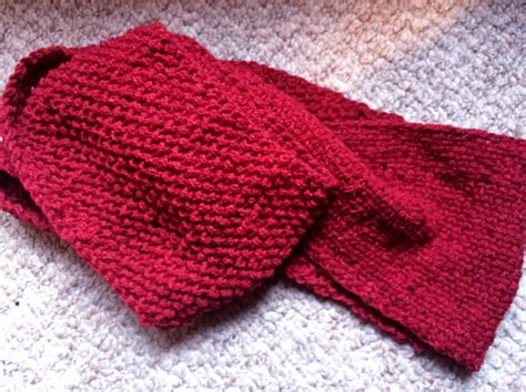 weave knit scarf pattern knitting patterns galore reversible basket weave