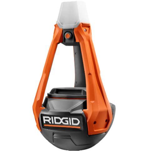 led rigid lights ridgid hybrid wobble style led area worklight review
