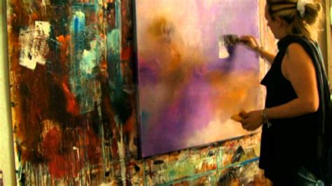 acrylic painting demonstration abstract acrylic painting abstrakte acrylmalerei demo