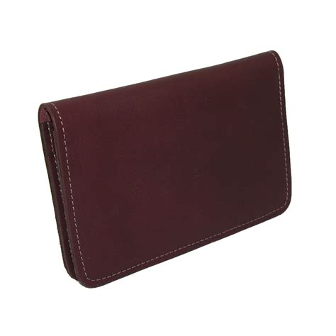 leather checkbook covers for leather top stub checkbook cover by ctm 174 checkbook covers wallets small accessories at