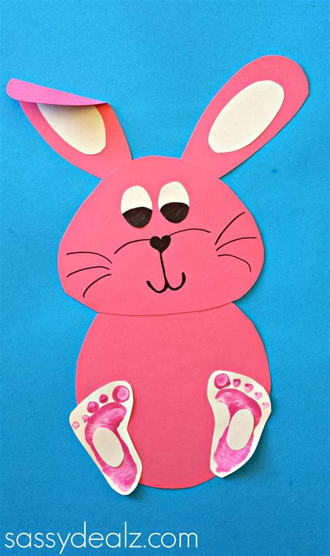 rabbit crafts for easy bunny crafts for crafty morning