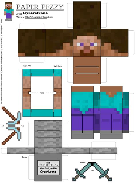 craft paper printing minecraft for the real world with papercraft studio app8ite
