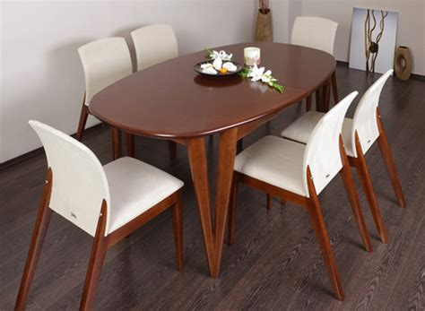 HAVESOME: Venice Extending Oval Dining Table