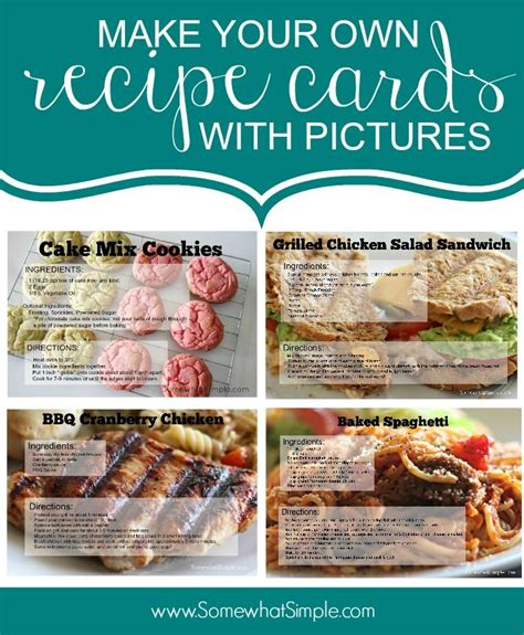 how to make your own recipe cards 25 unika cookbook ideas id 233 er p 229 budget