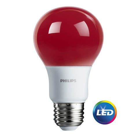 led colored light bulbs philips 100w equivalent daylight a19 led light bulb 455717