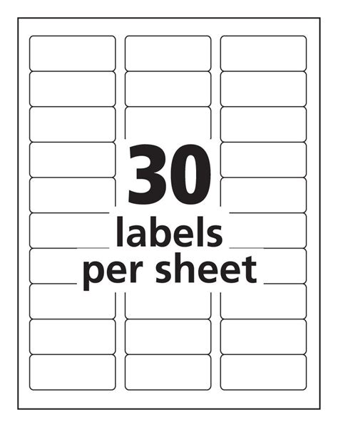 best photos of print avery 5160 labels free avery label
