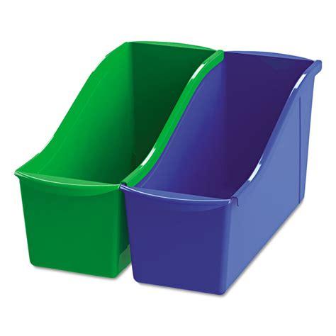 picture book bins interlocking book bins by storex stx70105u06c