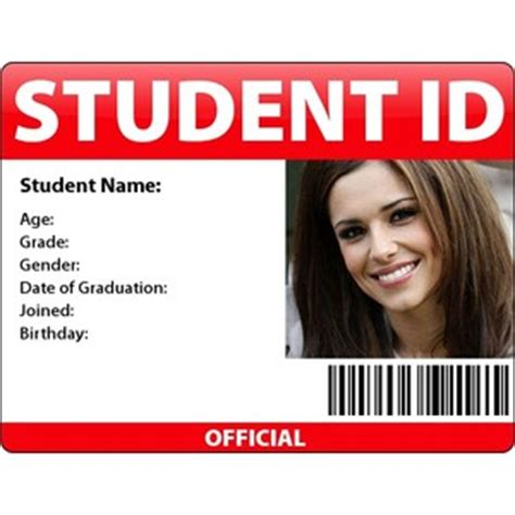 how to make student id cards s student id card polyvore