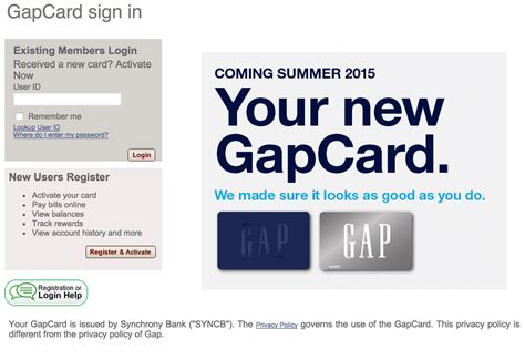 make payment on card gap credit card login make a payment