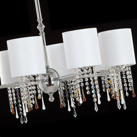 chrome chandelier swarovski polished chrome chandelier