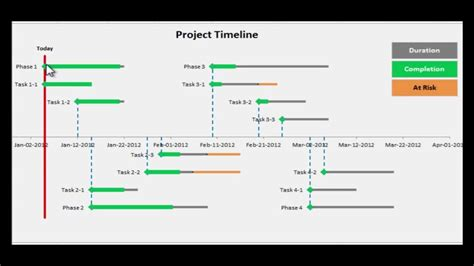project timeline template excel calendar template excel
