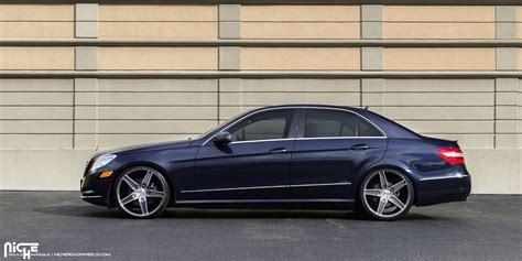 Mercedes E350 Rims by This Mercedes E350 With Niche Wheels Is