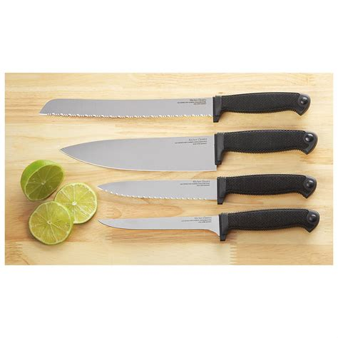 cold steel kitchen knives 4 pc cold steel kitchen knife combo 229434 kitchen