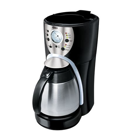 Oster® 10 cup Programmable Thermal Carafe Coffee Maker 3308 33 Parts   Oster® Canada