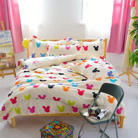 size mickey mouse comforter sets popular size mickey mouse bedding buy cheap
