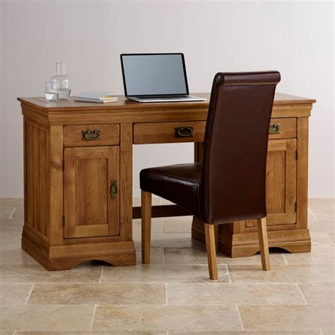 solid oak computer desk farmhouse computer desk solid oak oak furniture