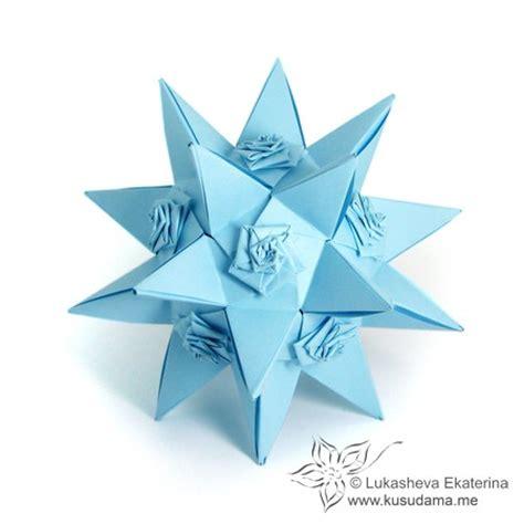 origami spiral kusudama me modular origami spiral unit