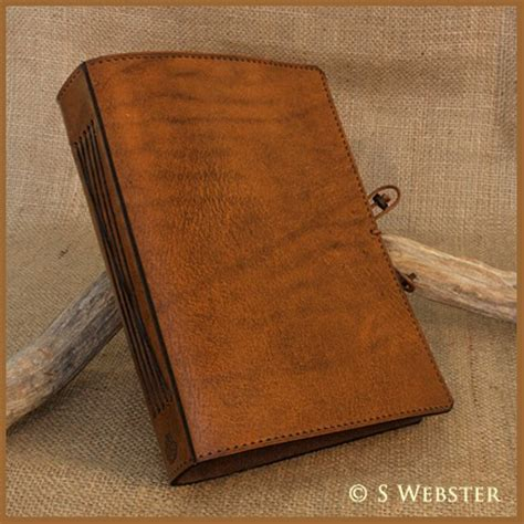leather bound notebooks uk a5 classic brown bound leather journal earthworks
