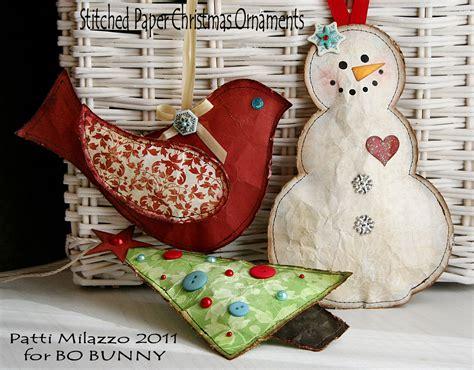handmade ornaments to make bobunny handmade ornaments