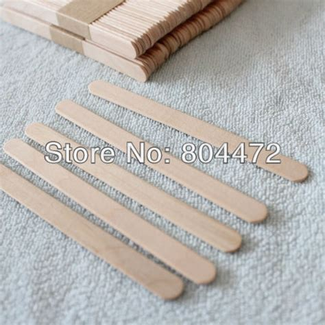 wooden craft sticks projects free shipping 100x craft stick 11cm wooden