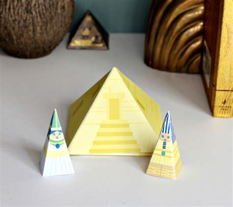 pyramid craft project pyramid diy playset crafts for