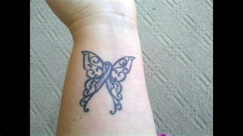 cancer butterfly tattoos designs cool tattoos bonbaden