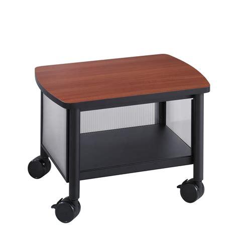 printer stand for desk safco impromptu table printer stand