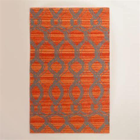 orange outdoor rugs orange and gray ventura reversible indoor outdoor rug