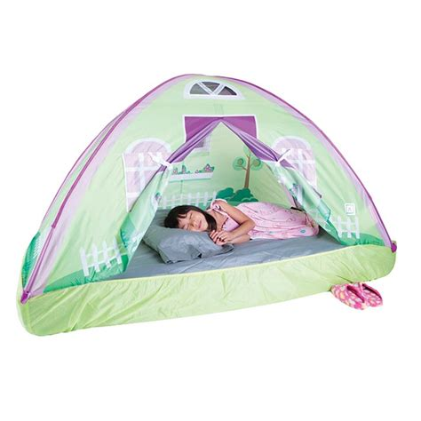 size bed tent pacific play tents cottage bed tent size