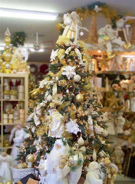 gold and white tree white ideas celebrations