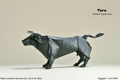 origami bull are these origami animals awesome you bet giraffe they are