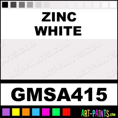 acrylic paint zinc white zinc white msa acrylic paints gmsa415 zinc white paint