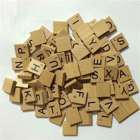 wooden scrabble tiles for crafts 100 wooden tiles board black numbers letters numbers