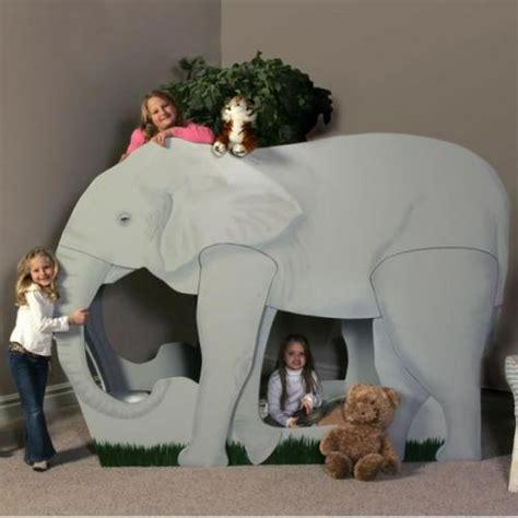 theme bunk bed elephant jungle safari themed bunk bed