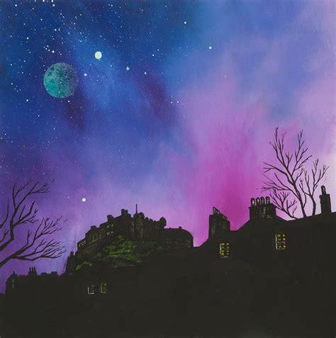 spray paint edinburgh paintings prints of edinburgh stirling the lothians