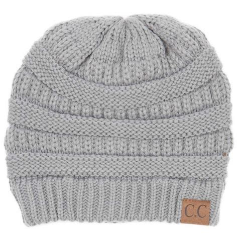 cable knit hat c c beanie cable knit beanie in grey hat 20a natgrey