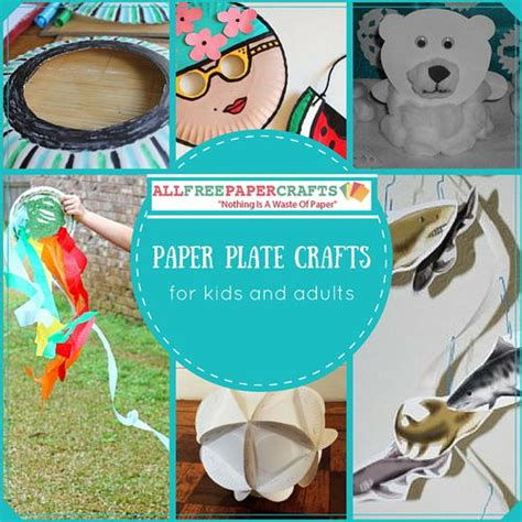 printable paper crafts for adults 13 paper plate crafts for and adults