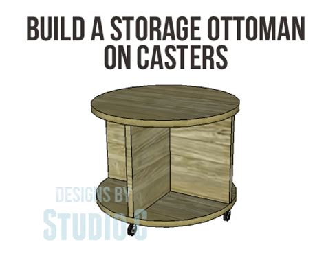 how to build a storage ottoman free plans to build a storage ottoman on casters