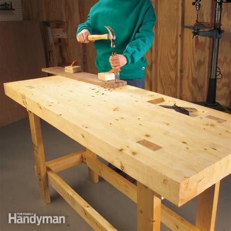 building a woodworking bench diy closet building how to build a workbench top