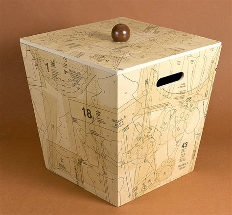 decoupage storage boxes decoupage sewing storage box favecrafts