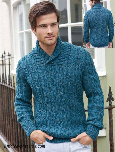 mens knitting patterns s cable jumper knitting pattern free